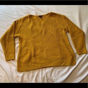 ANA Yellow Knit Sweater